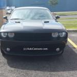 Rencontres inattendues: un magnifique Dodge Challenger noir à Saint-Basile-le-Grand