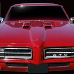Voitures légendaires et mythiques: 1969 Pontiac GTO The Judge