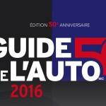 Guide de l'Auto 2016, 50e anniversaire