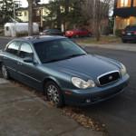 2004 Hyundai Sonata à moins de 2 000$, notre trouvaille de la semaine du 9 novembre 2015