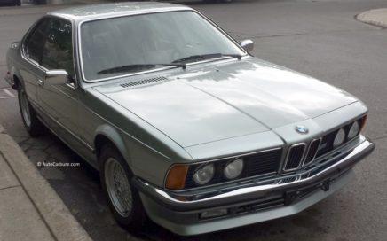Belle BMW des années 80
