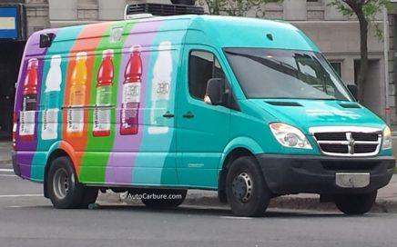 Spotted véhicule de Glaceau Vitamin water