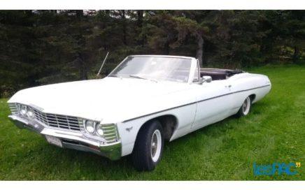 1967 Chevrolet Impala décapotable