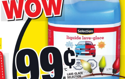Lave-glace Selection