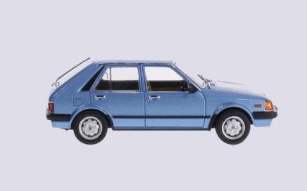 Mazda bleue