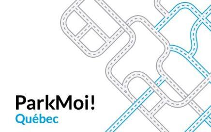 ParkMoi! Québec pour du stationnement à Québec
