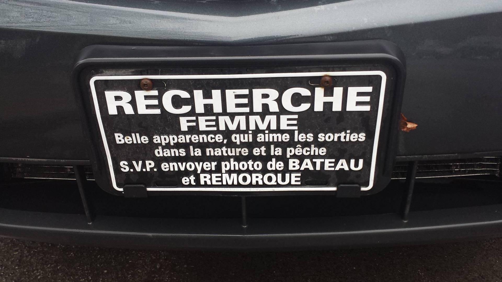 Souvent Plaques comiques | AutoCarbure.com - référence automobile au Québec AO81