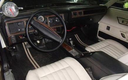 intérieur du 1977 Plymouth Fury