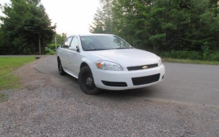 2012 Chevrolet Impala Police pack