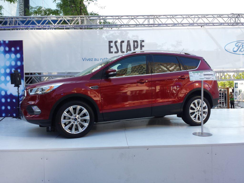 Ford Escape aux Francofolies de Montréal