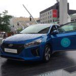 La Hyundai Ioniq bien en vue au Festival International de Jazz de Montréal