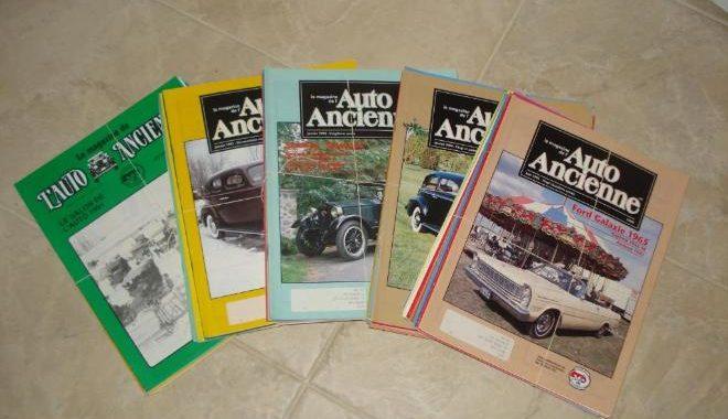 Magazines Auto Ancienne du Québec