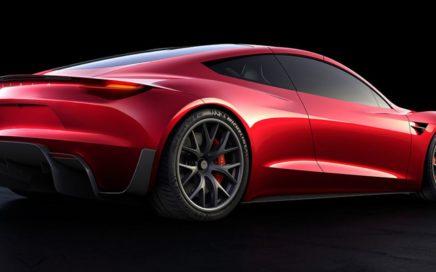 Le nouveau roadster de Tesla