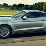 La Mustang 2015 sera disponible dans les pays à conduite à droite