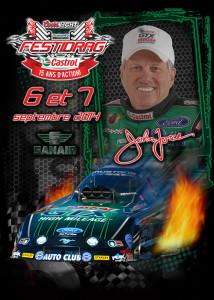 John Force et son road show à Sanair les 6 et 7 septembre