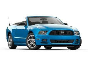 mustang-bleu-decapotable