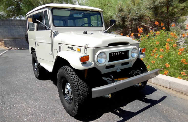 Lot #625 - Toyota Land Cruiser 1971
