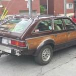 Rencontres inatendues: AMC Eagle 1984 familiale imitation bois
