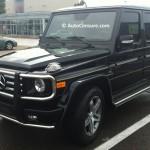 Rencontres inattendues: un gros Mercedes G55 AMG