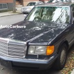 Rencontres inattendues: Mercedes 300 SEL 1990