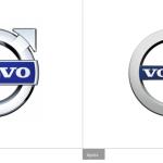 Nouveau logo chez Volvo