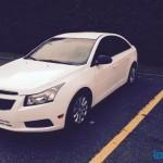 Trouvaille de la semaine du 26 janvier 2015: 2011 Chevrolet Cruze blanc