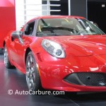 Salon de l'auto international de Montréal:  Alfa Romeo 4C 2015