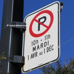 1er avril, plusieurs interdictions de stationnement retombent en vigueur à Montréal