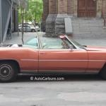 Rencontres inattendues: une Cadillac convertible toute en longueur