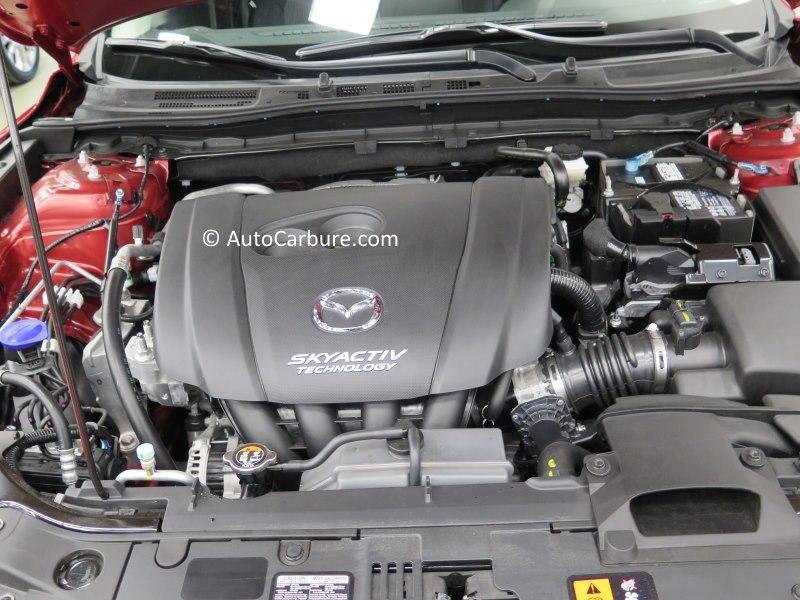 Mazda et son SkyActiv était bien présent au salon avec ses divers modèles