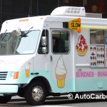 Spotted véhicules commerciaux: Un sundae truck à New York