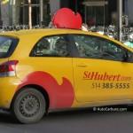 Spotted l'auto de livraison St-Hubert