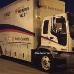 Spotted le camion de Radio-Canada