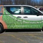Spotted le camion de promotion de Golf Nouveau-Brunswick