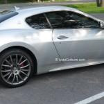 Rencontre inattendue d'une Maserati GranTurismo Sport