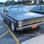 Rencontre inattendue d'un 1966 Plymouth Fury II