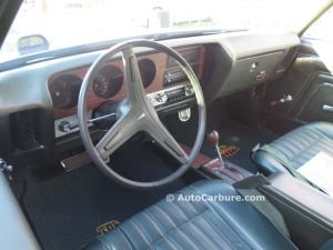 Intérieur 1970 Pontiac GTO