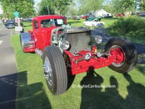 Hot rod bâti avec un moteur Detroit Diesel