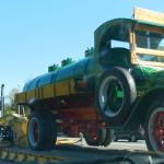 Rencontre inattendue d'un camion antique en route vers Hershey 2014
