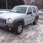 2003 Jeep Liberty à moins de 3 000$, notre trouvaille de la semaine du 25 janvier 2016