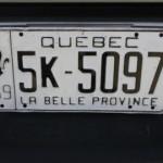 Pourquoi pas le retour de « La belle province » sur les plaques d'immatriculation?