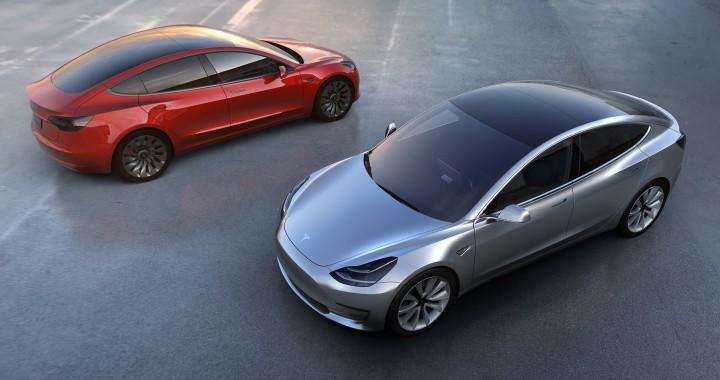 2017 Tesla Midel 3