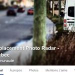 Emplacement de radar photo au Québec