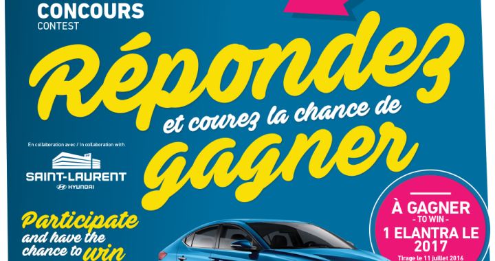 Gagner une 2017 Hyundai Elantra