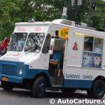 Un autre spotted camion de crème glacée à New York alors que le Sud du Québec a chaud