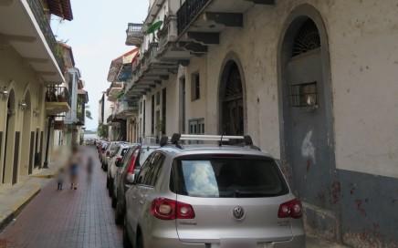 Ruelle dans la vieille ville de Panama CIty