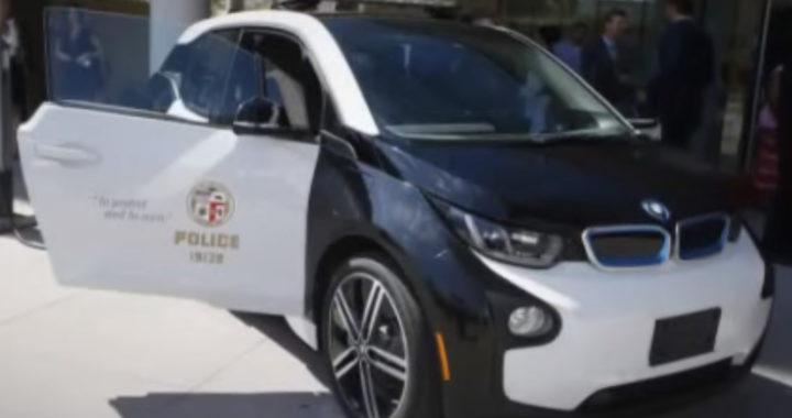 Autopatrouilles électriques BMW i3