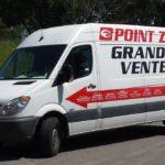 Spotted camion grande vente Point Zero