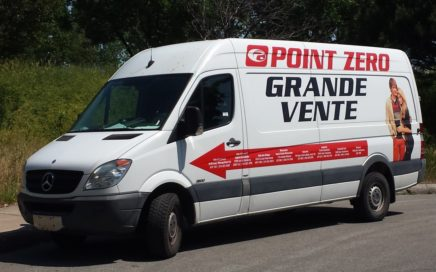véhicule commerciale grande vente Point Zero