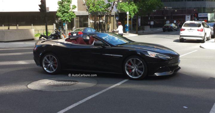 Rencontre d'une Aston Martin à Montréal